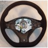 32302166619 BMW OEM E70 E70N X5 Performance Alcantara Sport Steering Wheel GENUINE