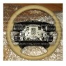 QTB102700SMS Land Rover Brand Discovery 2 1999-2004 OEM Leather Beige Steering Wheel GENUINE
