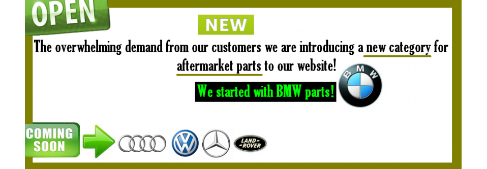 Open Aftermarket parts